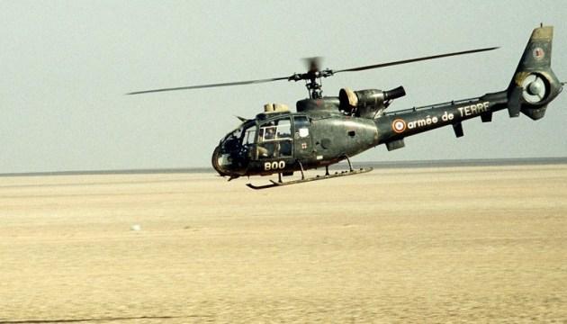 У Кот-д'Івуар розбився французький військовий вертоліт