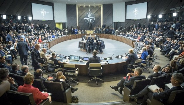 NATO leaders urge Russia to withdraw troops from Ukraine - summit declaration