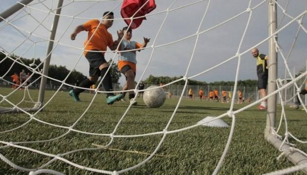 В Харькове заработал детский футбольный лагерь I Love orange 2018