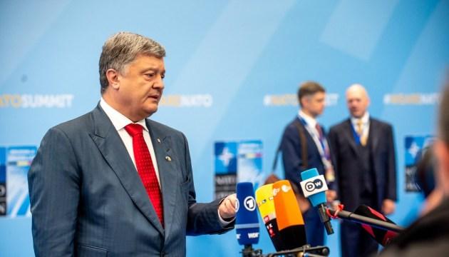 Саммит НАТО: Порошенко поообщался с журналистами