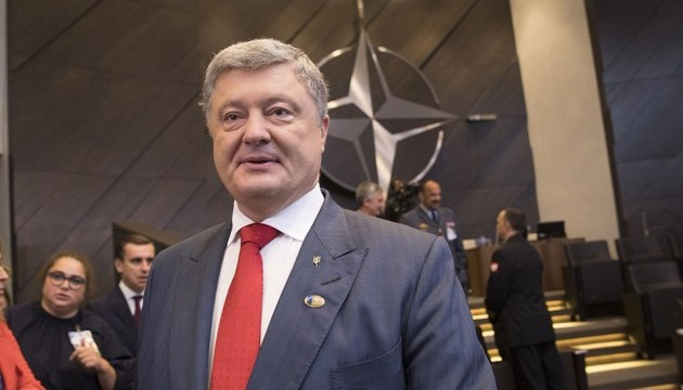 Poroshenko: Release of Ukrainian hostages discussed at all meetings during NATO summit