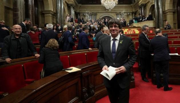 Пучдемон получил временную аккредитацию в Европарламент