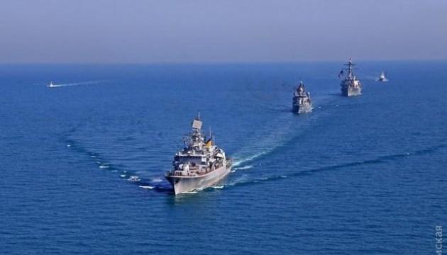 Sea Breeze 2018: ескадра кораблів вийшла у відкрите море
