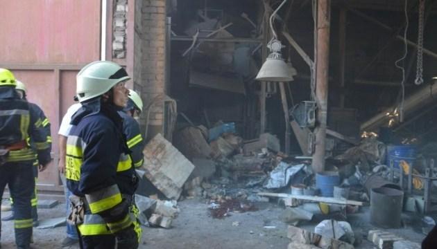 Взрыв на одном из предприятий в Днипре забрал жизни двух человек
