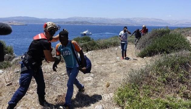 Берегова охорона Туреччини врятувала 34 мігранти