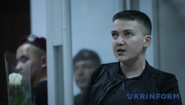 Суд оставил Савченко под стражей до сентября