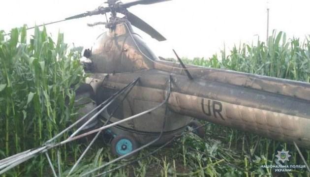 На Чернігівщині вертоліт знеструмив 5 сіл