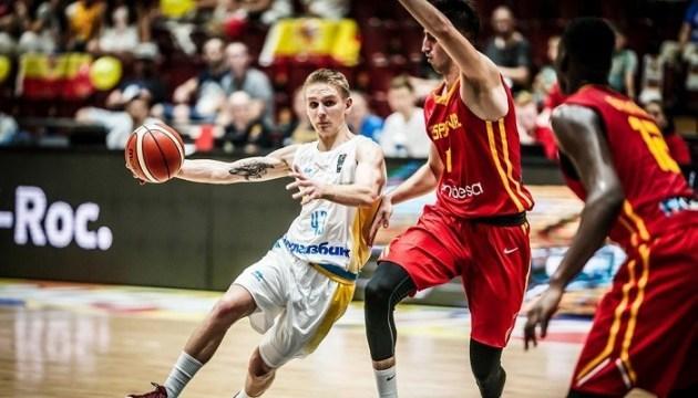 Сборная Украины U-20 сенсационно обыграла Испанию в стартовом матче Евробаскета-2018