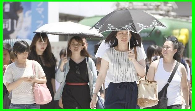 Японія потерпає від спеки: п'ять жертв, понад 1500 постраждалих - у лікарнях