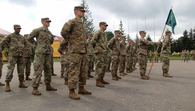 Во Львовской области прошли выучку 40 американских военных