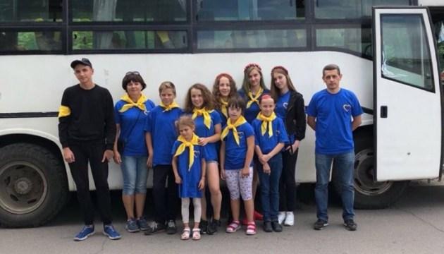 Українська діаспора в Румунії організувала відпочинок для дітей Донбасу