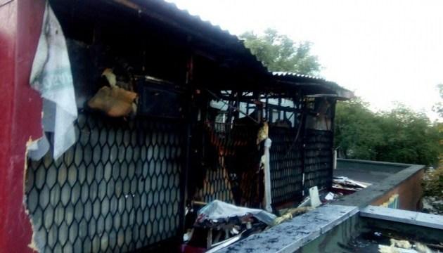 В Киеве горел хостел, пострадали шесть человек