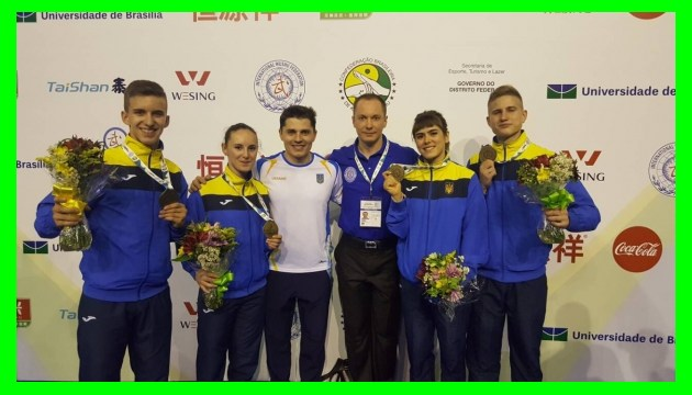 Украинские мастера ушу выиграли два