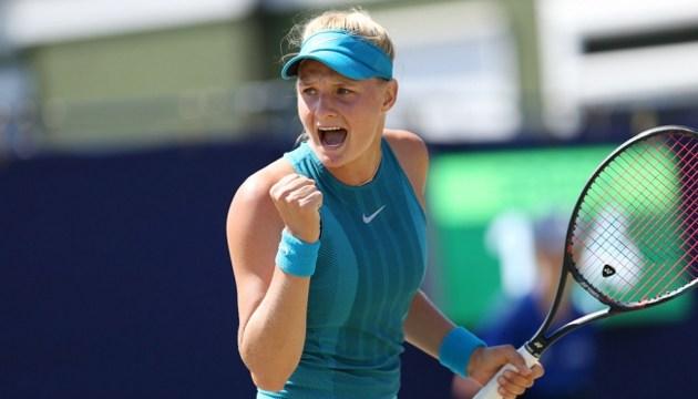 Теннис: украинка Ястремская впервые попала в топ-100 рейтинга WTA