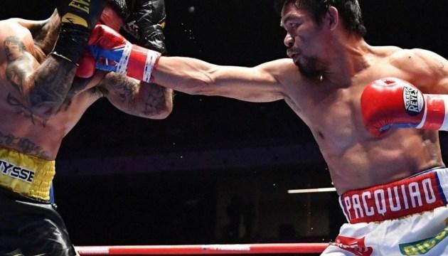 Бокс: Пакьяо может провести бой с Ломаченко или Кроуфордом в США
