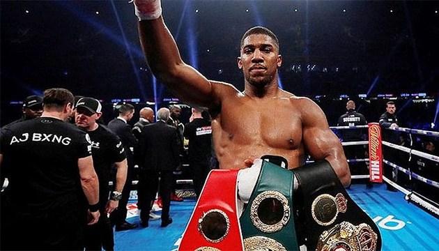 Бокс: Джошуа проведет титульный бой с Поветкиным в сентябре