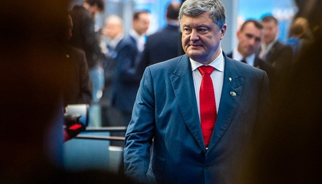 Poroshenko: Ukraine climbs 14 positions in WB's logistics performance index