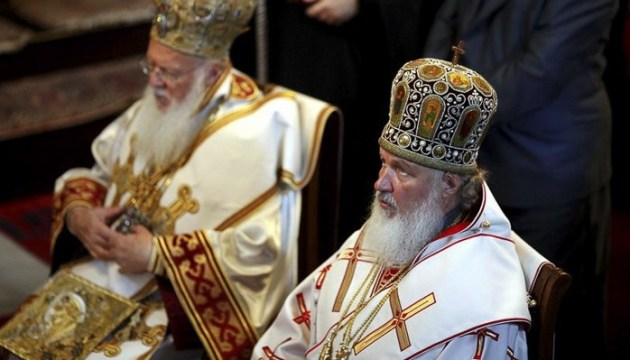 Патриарх Кирилл едет в Стамбул на встречу с Варфоломеем