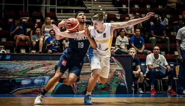 Баскетбол: украинцы уступили французам на Евро (U-20)