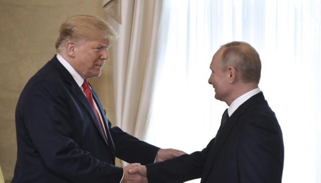 Трамп вважає зустріч з Путіним