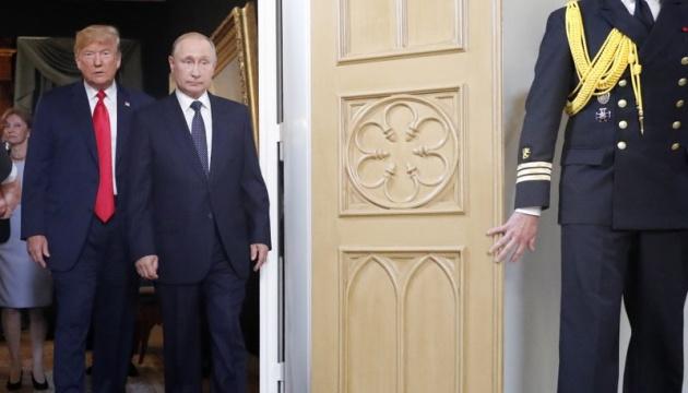 """Путин снова заявил, что РФ """"не вмешивалась в американские выборы и не будет"""""""