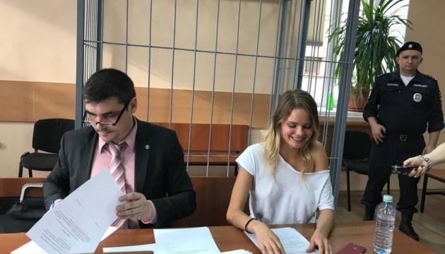 В Москве на 15 суток арестовали участницу Pussy Riot за акцию на стадионе