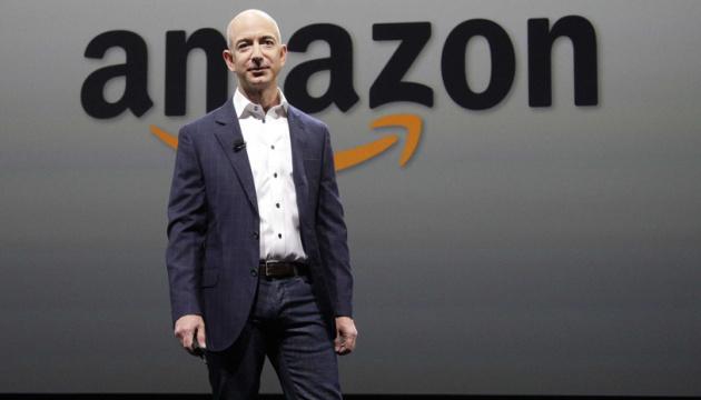 Безос продав за тиждень акцій Amazon майже на $3,5 мільярда