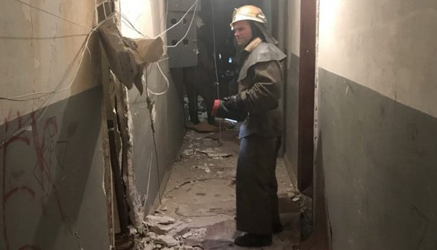 Explosion in Hochhaus in Krywyi Rih – Bilder, Video