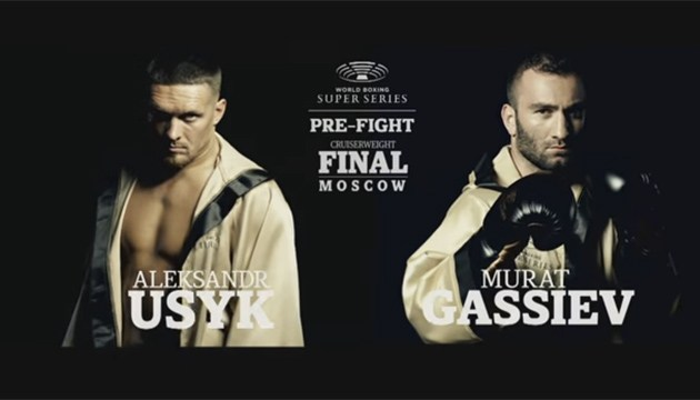 Image result for Usyk vs Gassiev