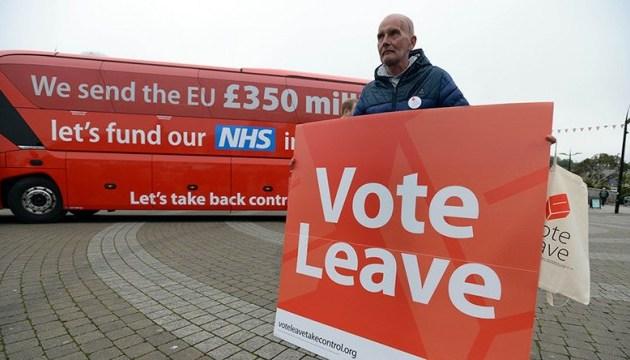 Кампанію за Brexit оштрафували за фінансові порушення
