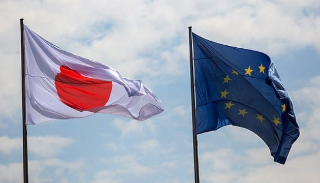 EU, Japan reaffirm support for Ukraine's territorial integrity