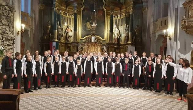 У церкві Будапешта лунав спів дитячого хору