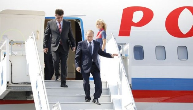Літак із Путіним порушив повітряний простір Естонії - ЗМІ