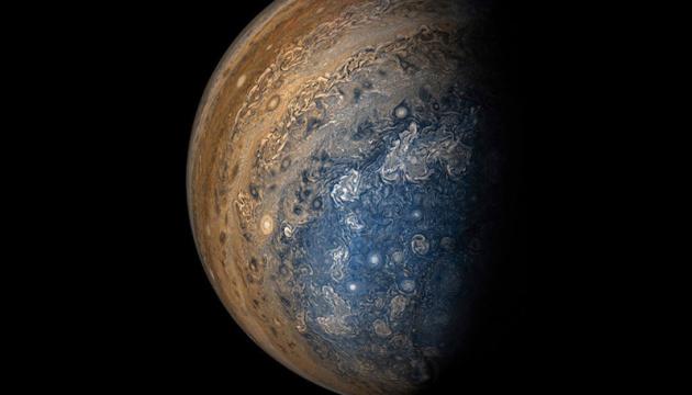 NASA показало, как выглядит атмосфера Юпитера