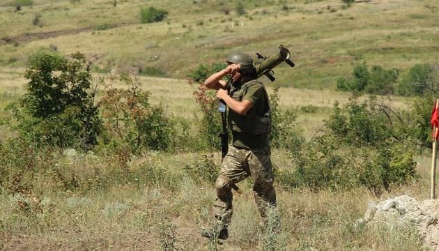 Доба в ООС: 15 ворожих обстрілів, один боєць поранений