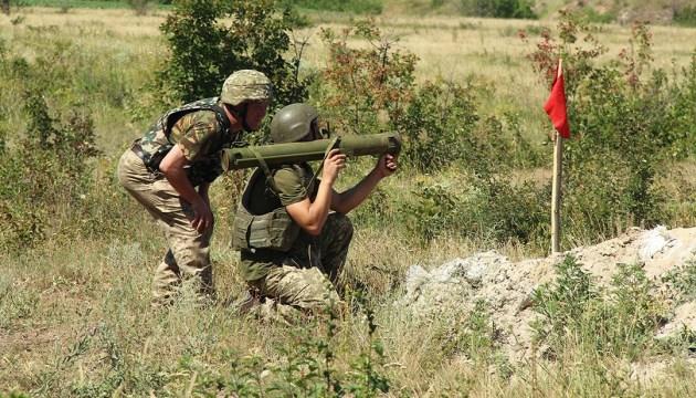 Ein Toter und zwei verletzte Soldaten im Donbass