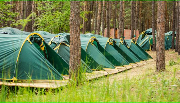 Донетчина следующим летом откроет 6 палаточных лагерей для детей