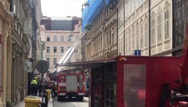 Під час обвалу будинку в Празі травмувалися троє українців