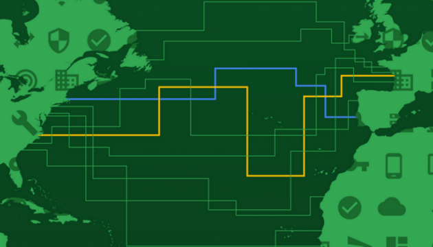 Google прокладає новий трансатлантичний кабель
