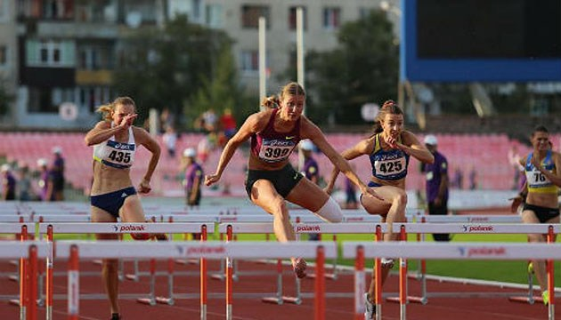 Легкая атлетика: определились первые победители чемпионата Украины