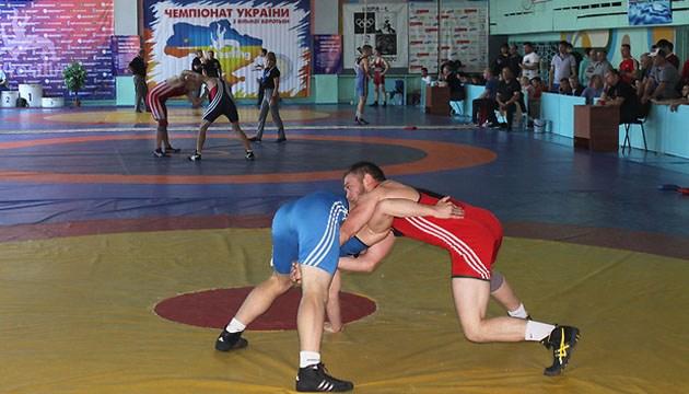 Вольная борьба: определились победители чемпионата Украины