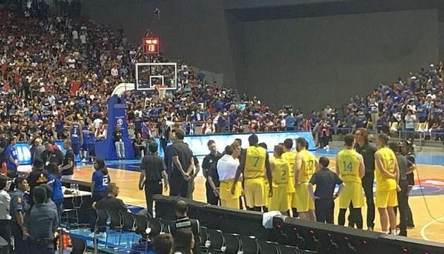 Баскетбол: ФИБА наказала участников драки на матче отбора чемпионата мира
