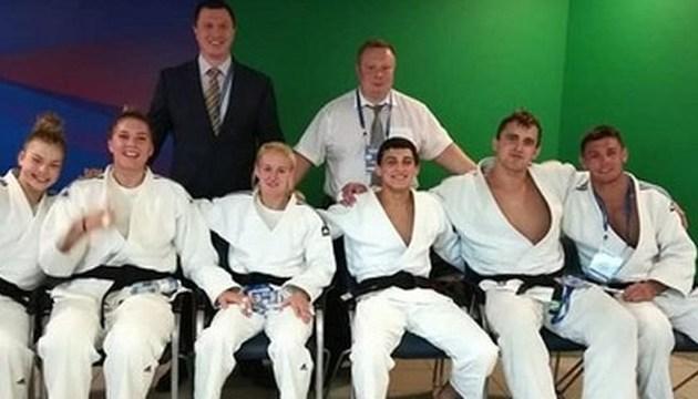 Украинцы стали бронзовыми призеры командного чемпионата Европы по дзюдо
