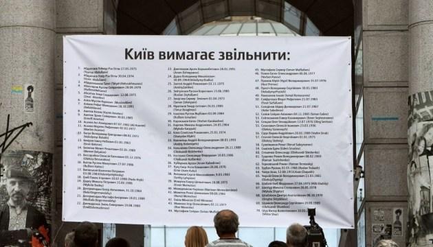 Prisonniers politiques du Kremlin qui ont déclaré la grève de la faim