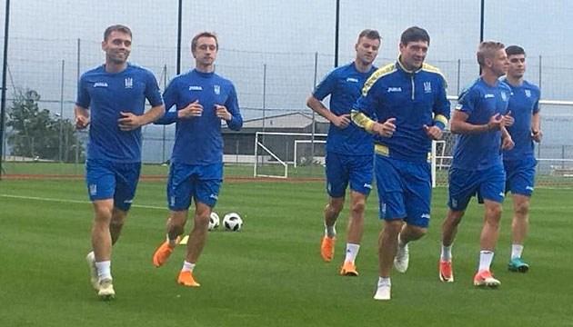 Ліга націй: збірна України з футболу готуватиметься до матчу з Чехією в Києві