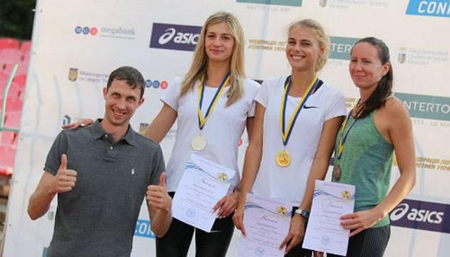 Легкая атлетика: второй день чемпионата Украины отметился новыми рекордами