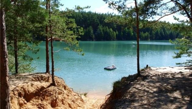 Голубі озера під Олешнею: магія тихого плеса і купальської ночі