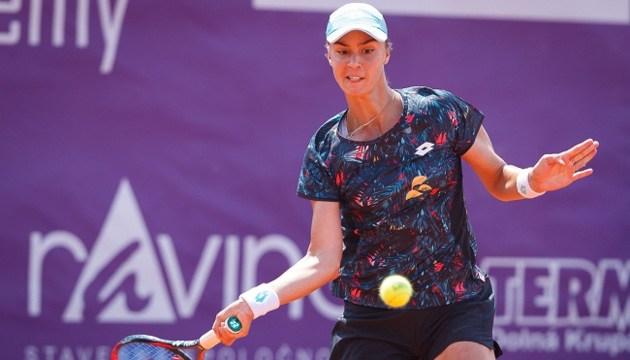 Калініна програла чвертьфінальний матч турніру ITF у Чехії