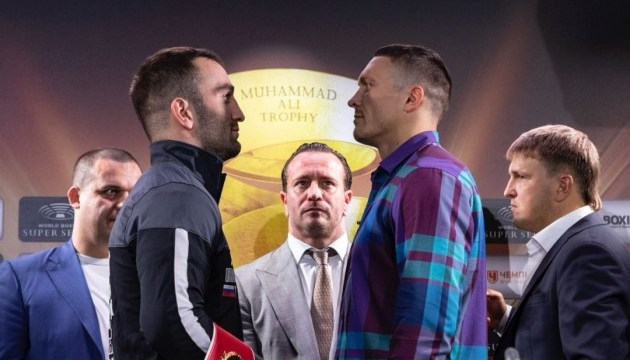 Букмекеры дали прогноз на чемпионский боксерский бой Усик - Гассиев