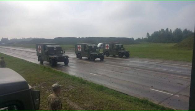 Армія показала техніку, що буде на параді у День Незалежності